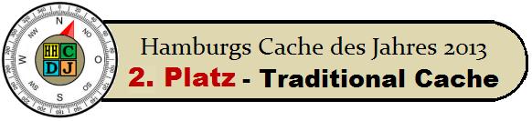 Hamburgs Cache des Jahres 2013